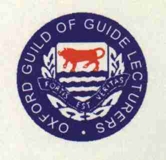 Guides approved by the Oxford Tourist Board have passed a rigourous examination on all aspects of Oxford